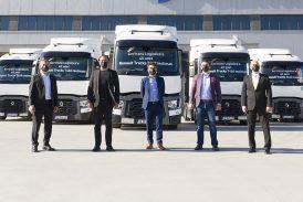 Renault Trucks'dan yılın ilk büyük filo teslimatı