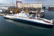 Sefine tersanesi'nin ürettiği dünyanın en büyük elektrikli feribotu