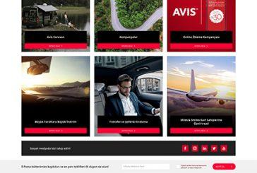 AVIS yeni web sitesi ile kişisel müşteri deneyimi sunuyor