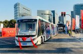 China's first digital rail guided tram