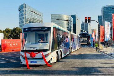 China's first digital rail guided tram
