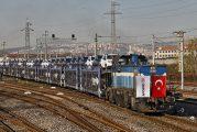 Omsan Lojistik, Marmaray ile deniz altından otomobil taşıdı