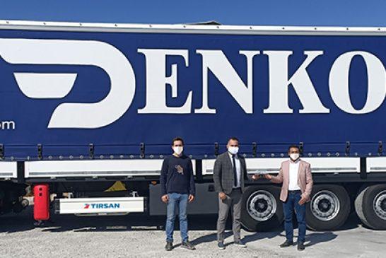 Denko Lojistik, Avrupa Operasyonları İçin 15 Adet Tırsan Maxıma Plus teslim aldı
