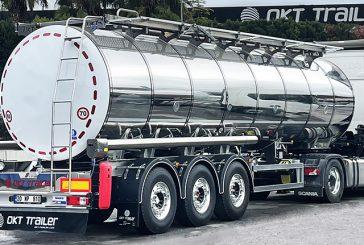OKT Trailer'den süt tankeri teslimatı