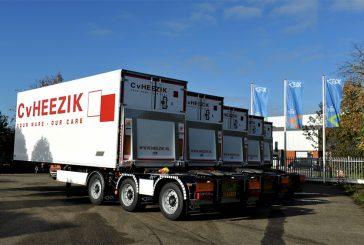 Van Eck delivered five trailers