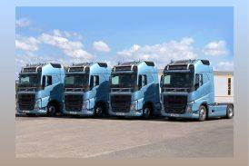 Volvo Trucks teslimatta hız kesmiyor