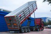 Fesan'ın damperi Hardox 500 Tuf ile 1200 kg hafifledi