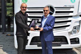Mercedes-Benz Gelecek Otomotiv'den Actros teslimatı