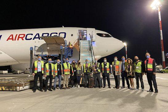 CMA CGM Air Cargo'nun ilk uçağı İstanbul Hava Limanı'na iniş yaptı
