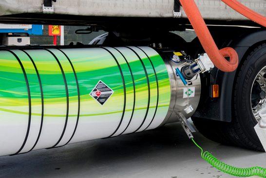 DKV, 9 ülkede 230'dan fazla LNG istasyonunu bir araya getirdi