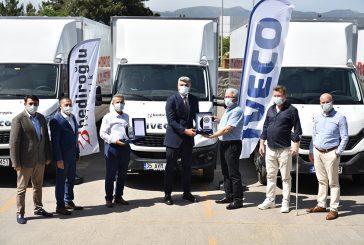 Iveco'dan İzmir'e Daily teslimatı