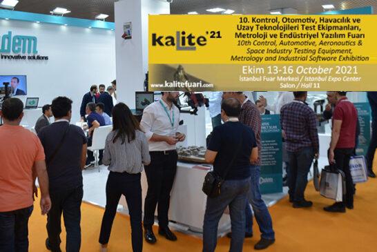 Sektör liderleri Kalite'21 ile 10. kez bir araya gelecek
