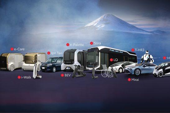 """Toyota """"Olimpik Ruhunu""""  Tokyo Olimpiyatları'na taşıyor"""