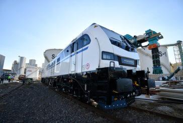 Körfez Ulaştırma Türkiye'nin ilk hibrit lokomotiflerini teslim aldı