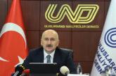 Ulaştırma ve Altyapı Bakanının UND ziyareti
